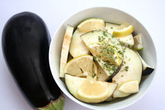 aubergines Royaltyfri Fotografi