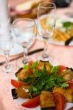aubergines Arkivbild