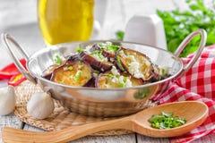 Aubergines Стоковое Изображение RF