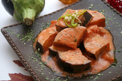 aubergines Arkivfoton