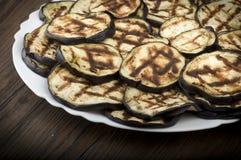 Aubergines eggplants Stock Images