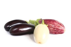 Aubergines Royalty Free Stock Photos