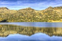 ` Aubert Lac d в массиве Neouvielle Стоковое Изображение RF