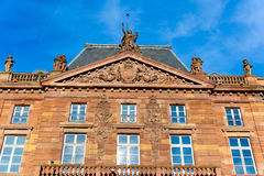 Aubette Palace; in place Kleber Strasbourg, Alsace, France Royalty Free Stock Image