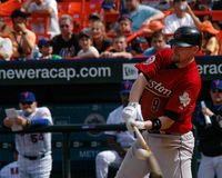 Aubrey Huff, Houston Astros Stock Afbeelding
