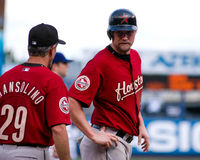 Aubrey Huff, Houston Astros photographie stock libre de droits