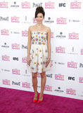 Aubrey Plaza. At the 2013 Film Independent Spirit Awards held at the Santa Monica Beach in Los Angeles, United States, 230213 Stock Photos