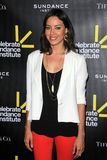 Aubrey Plaza at the Sundance Institute Benefit Presented by Tiffany & Co., Soho House, Los Angeles, CA 06-06-12 Stock Image