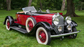 1929 Auburn Boat-Tail Speedster, EyesOn Design, MI Royalty Free Stock Photos