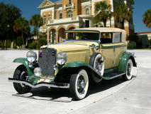 1929 Auburn 8-90 Boattail Speedster. Joined by Cord in 1924 to help breath life into Auburn. Model 8-98A. 98bhp, 268cu. in. inline eight-cylinder Lycoming engine Stock Photo