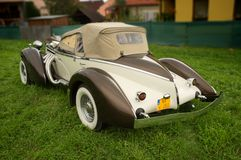 Auburn Boattail Speedster Replicar Royalty Free Stock Images