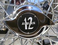 Auburn 12 Chrome Wheel Spinner Stock Image