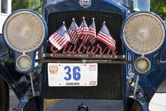 Auburn Classic Car Royalty Free Stock Photos