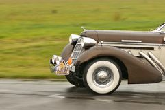 1935 Auburn 851 SC in motion Stock Photography