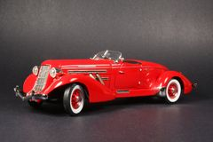 Auburn Speedster 1935 Stock Photography