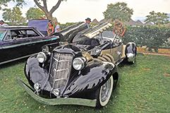 Auburn Speedster Reproduction. This Auburn Speedster was built from a manufacturer supplied kit. It is powered by a modern fuel injected engine. This design was Stock Photos
