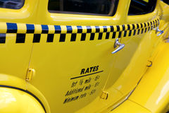 Auburn Taxi Cab Stock Photo