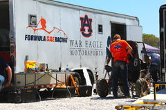 AUBURN UNIVERSITY,WAR EAGLE MOTORSPORTS Stock Images