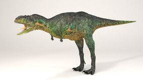 Aucasaurus-dinosaurie vektor illustrationer