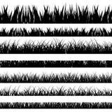 Auch im corel abgehobenen Betrag Eingestellt mit realistica Gras nave Format EPS10 stock abbildung