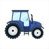Auch im corel abgehobenen Betrag Landwirtschaftlicher Transport für Bauernhof in der flachen Art Lizenzfreie Stockbilder