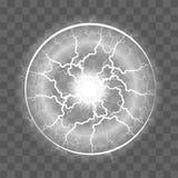 Auch im corel abgehobenen Betrag Transparenter Lichteffekt von stock abbildung