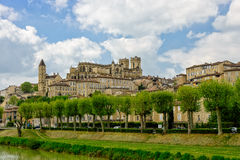 Auch, a town in Gascony Royalty Free Stock Photography