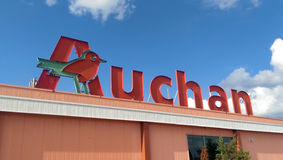 Auchan Imagem de Stock Royalty Free