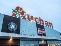 Auchan is a French international supermarket