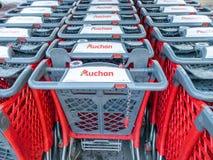 Auchan is a French international supermarket chain,
