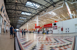 Auchan Samara Store in shopping center Ambar Royalty Free Stock Image