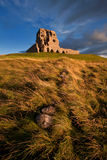 Auchindoun Castle, Dufftown, Moray, Scotland. Is a ruined 15th century tower fortress with historic connections to the Ogilvy and Gordon Clans, and the Jacobite Royalty Free Stock Photo
