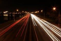 auckland światła Fotografia Royalty Free