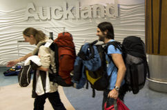 Auckland Airport - New Zealand Stock Photo