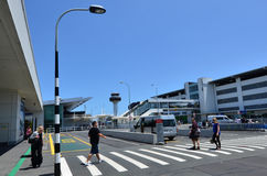 Auckland Airport - New Zealand Stock Image