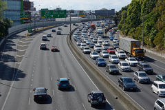 Auckland-Autobahnen Lizenzfreie Stockfotos