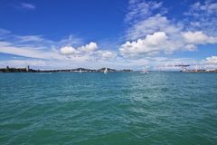 Auckland is a beautiful city in New Zealand royalty free stock images