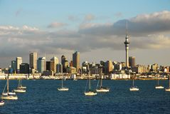 Auckland Blue Royalty Free Stock Photo