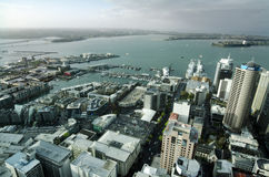 Auckland CBD Cityscape - New Zealand NZ Royalty Free Stock Image