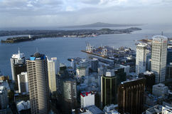 Auckland CBD Cityscape - New Zealand NZ Stock Photography