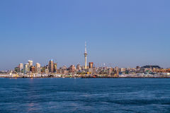 Auckland CBD skyline Royalty Free Stock Photography