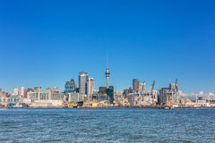 Auckland central business district view Royalty Free Stock Photography