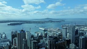 Auckland Citty Stock Foto's