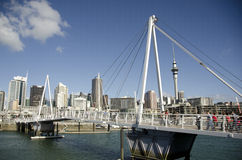 Auckland City Stock Photo