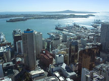 Auckland CIty. Auckland, New Zealand - Skyline, Waitemata Harbour Stock Image