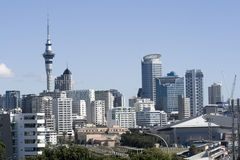 Auckland City CBD Royalty Free Stock Photography