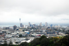 Auckland city center view from Mount Eden Stock Images