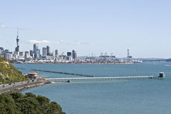 Free Auckland City-Container Wharf Royalty Free Stock Images - 3336809