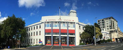 Auckland City Fire Station in Auckland New Zealand. Stock Images