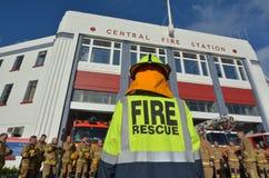 Auckland City Fire Station New Zealand Stock Photos